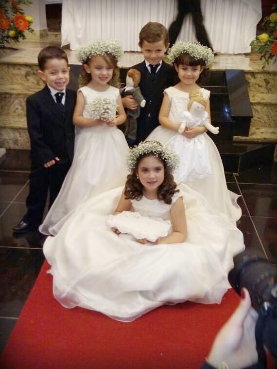 Dama e Pajem – Casamento Letícia e Tiago