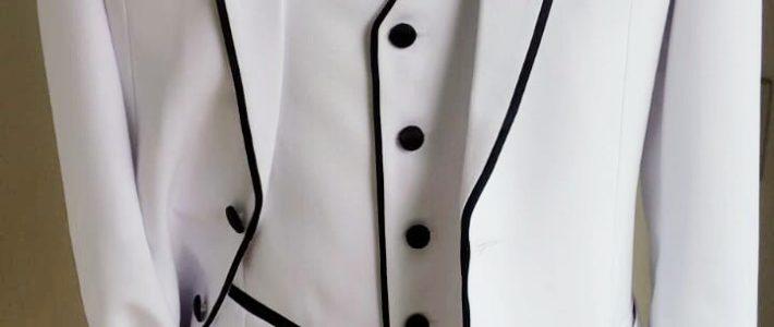 Terno Branco Slim